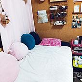 ベッド周りのインテリア実例 - 2021-04-11 18:43:39