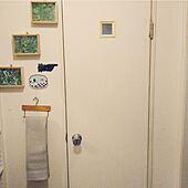 バス/トイレ/アンティークに憧れる/田舎暮らし/狭い部屋でもインテリアを楽しむ/無印良品...などのインテリア実例 - 2021-04-18 21:35:14