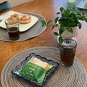 観葉植物/ポーランド食器/ポーリッシュポタリー/フォロワーさんに感謝♡/朝ごはん...などのインテリア実例 - 2021-04-19 08:15:22