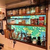 鬼おろし/セリアの保存瓶/セリアの保存容器/キッチン/レトロ...などのインテリア実例 - 2021-03-02 19:19:34