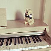 電子ピアノの上/北欧/机のインテリア実例 - 2021-03-06 22:31:57