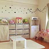 ダイソー/子供部屋/ゆめかわいい/おもちゃ部屋/部屋全体のインテリア実例 - 2020-04-02 07:38:33