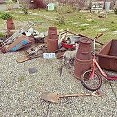 庭のある暮らし/庭/アメリカン/ヴィンテージ/古道具...などのインテリア実例 - 2021-04-03 09:32:22
