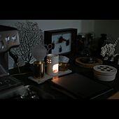 暮らしの一コマ/標本箱/キャンドル/ランプ/コーヒー好き...などのインテリア実例 - 2020-10-21 12:49:49