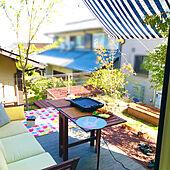 サンシェード/砂場DIY/Panasonic homes/IKEA/庭...などのインテリア実例 - 2021-04-11 16:53:02