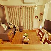 部屋全体/夫婦2人暮らし/シンプルな暮らし/2LDK賃貸マンション/キッチンからの眺め...などのインテリア実例 - 2021-05-12 20:49:11