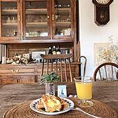 フレンチトースト/日めくりカレンダー/朝ごはん/アンティーク家具/中古を買ってリノベーション...などのインテリア実例 - 2021-03-05 00:08:20