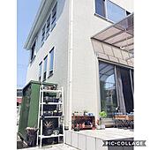 山善スチール物置/山善収納部/タイルデッキ/IKEA/アガベ...などのインテリア実例 - 2020-04-04 10:52:53