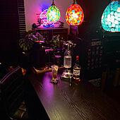 賃貸インテリア/男前/賃貸でも諦めない!/バーカウンターのあるキッチン/2DK 1人暮らし...などのインテリア実例 - 2021-03-03 21:48:05