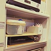 コーナン/トクラスキッチン/家電収納棚/間口の狭い家/無印良品...などのインテリア実例 - 2021-01-16 01:29:38