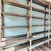 カラフルな壁/木が好き/造作棚/収納棚/シェルフリー...などのインテリア実例 - 2021-04-12 17:31:15