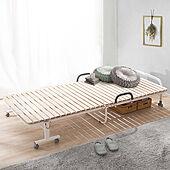 ベッドルーム/寝室/簡易ベッド/湿気対策/通気性抜群...などのインテリア実例 - 2021-08-06 12:07:43