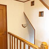 壁/天井/階段の壁/うまくヌレール/しっくい壁のインテリア実例 - 2017-09-04 10:24:53