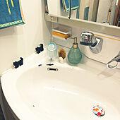 歯磨きコップ置き/陶器の排水口置き/akezouさんおすすめの網戸スポンジ/ダイソースポンジ置き/ダイソー猫スポンジが行列...などのインテリア実例 - 2021-04-14 22:48:31