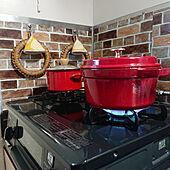 キッチン/ねこのいる日常/古いアパート/猫スペース/ねこが好き...などのインテリア実例 - 2021-09-19 16:29:54