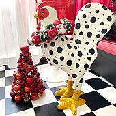 ART/クリスマス/クリスマスツリー/ひとり暮らし/リンゴ...などのインテリア実例 - 2020-12-03 21:43:56