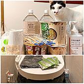 非常食/非常用トイレ/水道管凍結/水が使えない生活/ネコが好き...などのインテリア実例 - 2021-01-09 21:07:05