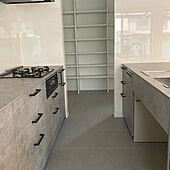 Ⅱ型キッチン/パントリー/キッチンパネル/kitchenhouse/キッチンのインテリア実例 - 2021-06-19 23:33:58