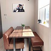 ダイニングテーブル/観葉植物/男前/キッチンのインテリア実例 - 2021-05-15 08:52:25