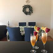 キッチンカウンターからの眺め/ユーカリリース/賃貸インテリア/オーストラリアのお正月/RCの出会いに感謝♡...などのインテリア実例 - 2021-01-01 15:53:06