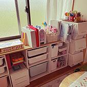 カラボ/おもちゃ収納/ニトリのインテリア実例 - 2021-06-17 13:25:58