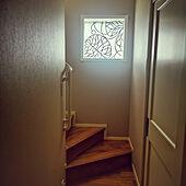 壁/天井/階段の窓/カーテン 手作り/突っ張り棒にカーテン/マリメッコ...などのインテリア実例 - 2021-04-20 20:15:22
