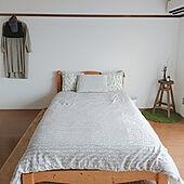 ベッド周り/IKEA/ドライフラワー/ニトリ/六畳...などのインテリア実例 - 2021-05-15 09:58:18