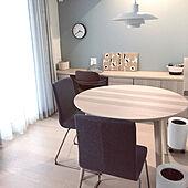 北欧モダン/ダイニングテーブル/IKEA/北欧/部屋全体のインテリア実例 - 2021-05-18 16:29:58