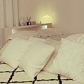 ホワイト/ベッド周りのインテリア実例 - 2021-09-22 22:11:21