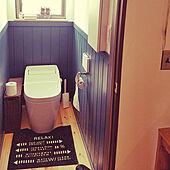 腰壁/ニトリ/バス/トイレのインテリア実例 - 2021-07-23 23:36:49