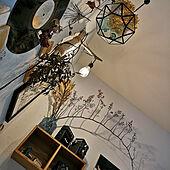 植物のある暮らし/グリーン/アンティーク/ドライフラワーのある暮らし/かるかるブリック...などのインテリア実例 - 2021-03-22 08:24:59