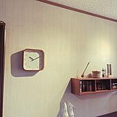 ステイン塗装/時計/シンプルライフ/ミニマリスト/丁寧な暮らし...などのインテリア実例 - 2021-04-10 14:48:33