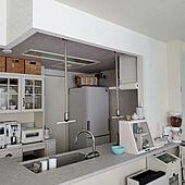 キッチン/モニター応募投稿/シャープ冷蔵庫のインテリア実例 - 2021-02-16 00:14:47