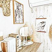 フリップミラー/アニマルヘッド/IG→bonitalife_style/建売住宅/いつもありがとうございます♪感謝☆...などのインテリア実例 - 2021-09-15 18:26:14