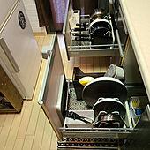 棚/コメントお気遣いなく♡/セリア/セリアのレース柄食器棚シート/DAISO300円商品...などのインテリア実例 - 2021-06-17 15:31:14