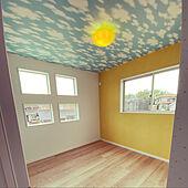 四つ窓/蓄光壁紙/お気に入りのカラー/ナチュラル/北欧...などのインテリア実例 - 2021-06-13 21:48:41