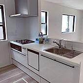 キッチン/だいたいできてきました。/7月末に完成/皆様に感謝♡/家を建てる...などのインテリア実例 - 2021-07-23 21:06:32