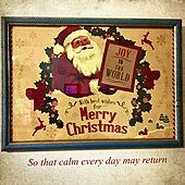アンティーク風/ランチョンマットは100均/クリスマス/皆さんいつもありがとう♡/RCの出会いに感謝♡...などのインテリア実例 - 2020-12-20 08:52:47