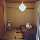 ベッド周り/和室/持たない暮らし/寝室/ミッフィー...などのインテリア実例 - 2021-07-16 22:40:38