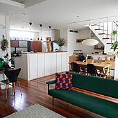 部屋全体/戸建て/観葉植物/インテリアグリーン/フェイクグリーン...などのインテリア実例 - 2021-07-30 14:55:08