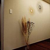 玄関/入り口/ヴィンテージマンション/ナチュラル素材/ダウンライト/廊下...などのインテリア実例 - 2021-09-18 20:45:26