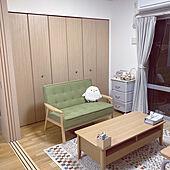 テーブル/ソファのある暮らし/ソファ/ニトリ/リビングのインテリア実例 - 2021-05-13 00:42:53