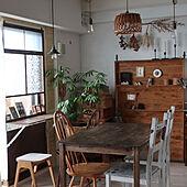 IKEA/ダイニングテーブル/暮らし/マンション暮らし/DIY...などのインテリア実例 - 2021-09-25 06:53:39