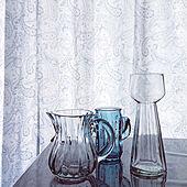 猛暑日…しんどい/ガラス雑貨/ガラス/アミング/フラワーベース...などのインテリア実例 - 2021-07-18 17:25:57