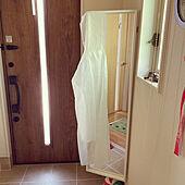 姿見/IKEAの鏡/IKEA/玄関/入り口のインテリア実例 - 2021-04-30 13:57:48