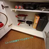キッチン/ニトリ/いいね&コメントお気遣いなく/賃貸/記録用...などのインテリア実例 - 2021-04-11 17:12:21