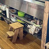 ハンドメイド/DIY/カフェ風/手作り/キッチンのインテリア実例 - 2021-04-11 05:27:11