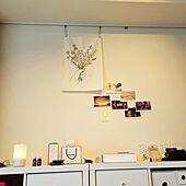 壁/天井/ホワイトナチュラル/無印良品/IKEA/タペストリー...などのインテリア実例 - 2021-09-23 11:46:08