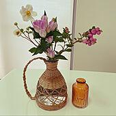 花瓶/花のある暮らし/モモナチュラル/ナチュラル/フラワーベース...などのインテリア実例 - 2021-09-19 11:38:55
