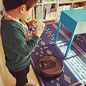 おもちゃ棚/IKEAスツール/新生活フェス2021/アイロボット/キッチンのインテリア実例 - 2021-03-20 23:11:28